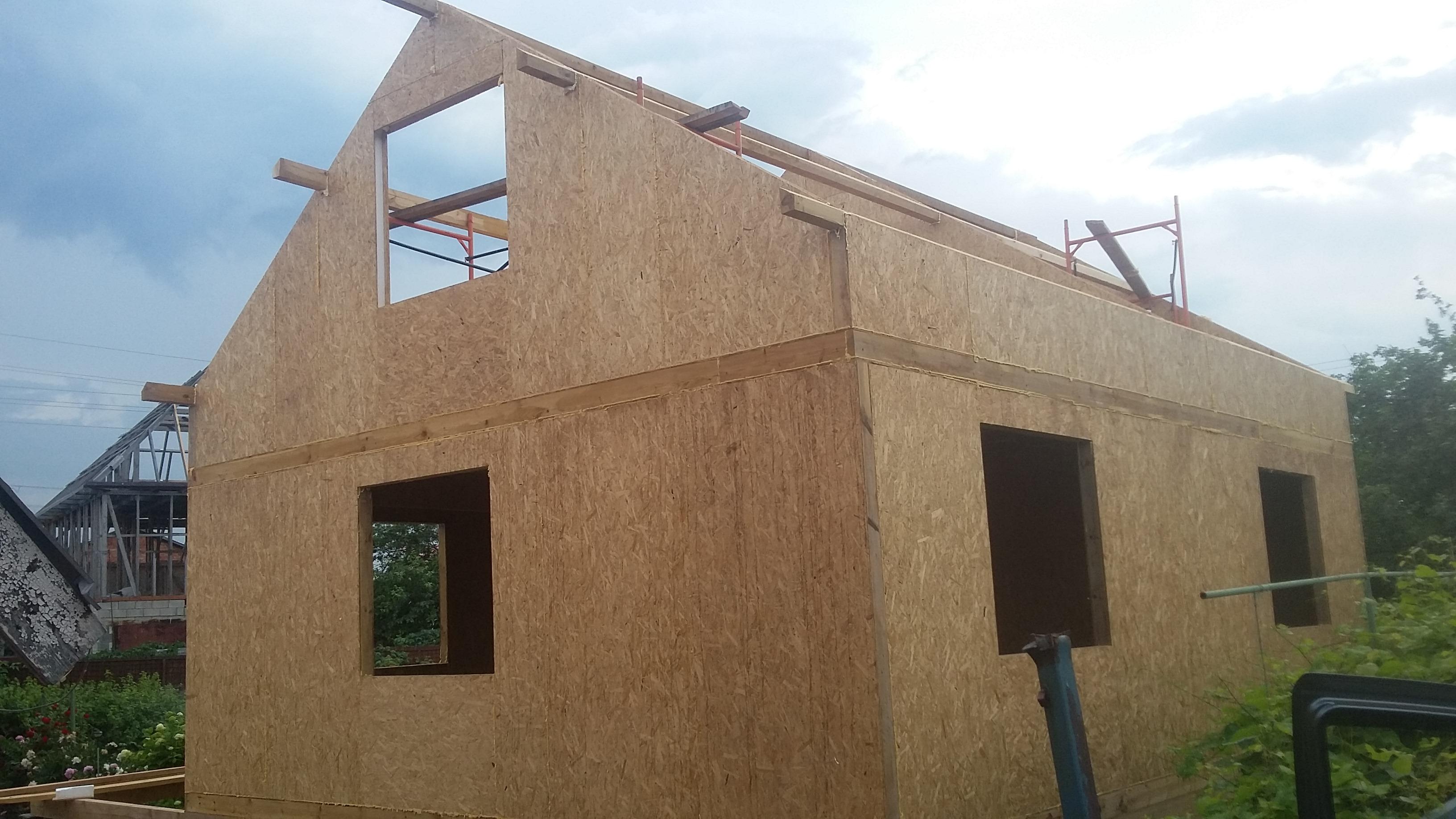 Дом из СИП панелей в Подстепках