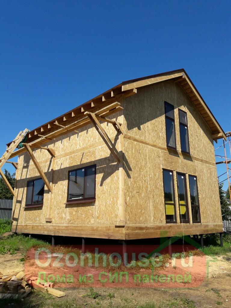 Дом из СИП панелей в Молгачах