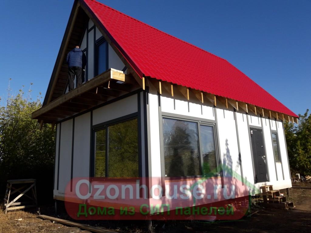 Дом из СИП панелей в Белозерках