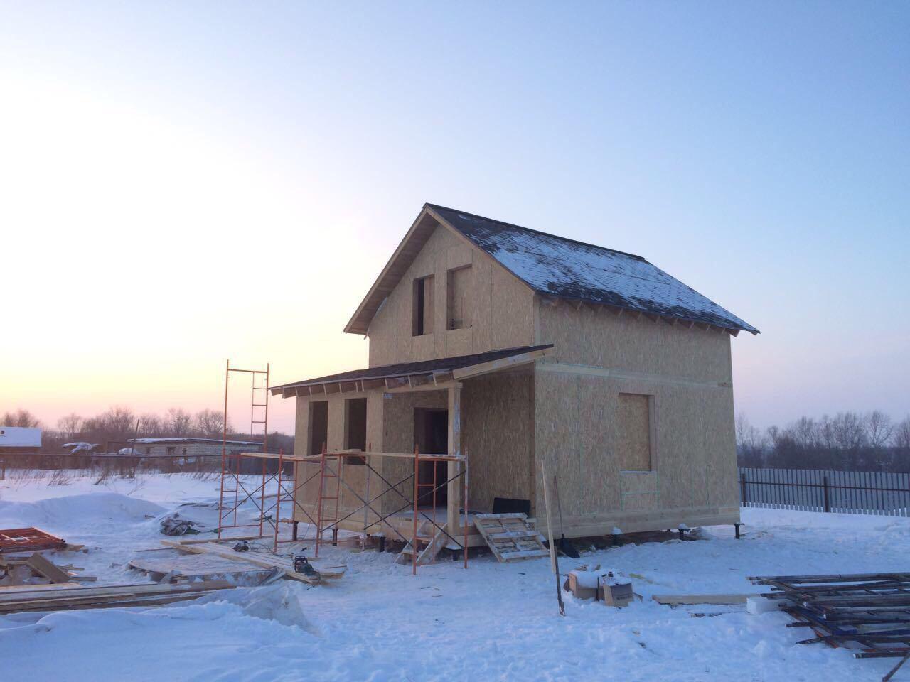 Дом из СИП панелей в Чапаевске
