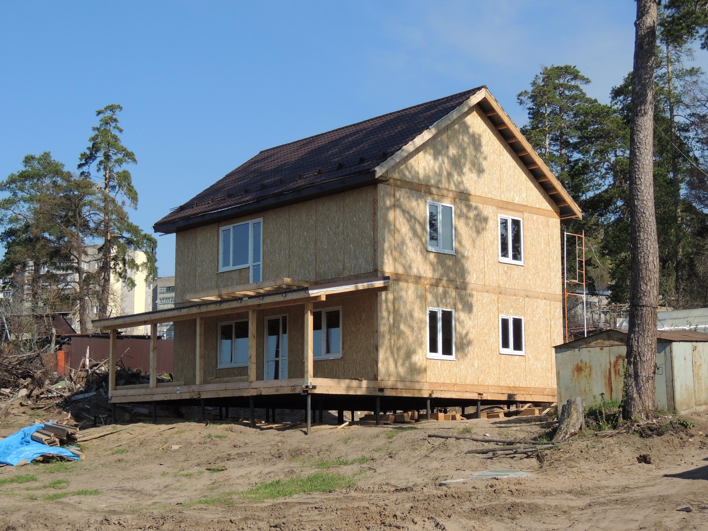 Дом из СИп панелей Прибрежный