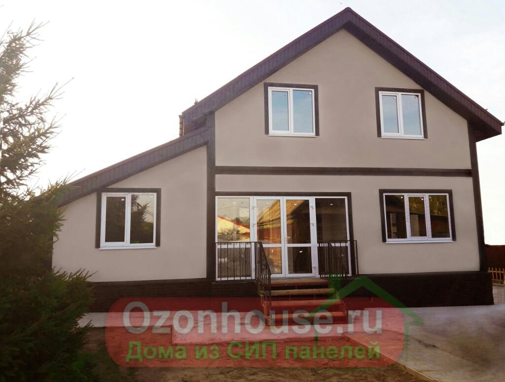 Дом из СИП панелей в Новокуйбышевске