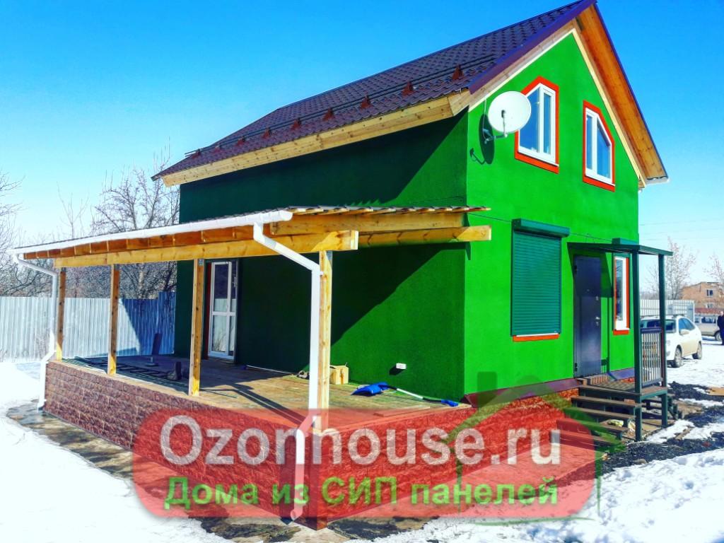 Дом из СИП панелей Раевка