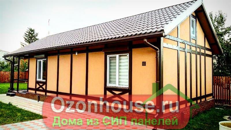 Дом из СИП панелей в Самаре